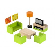 Branching Out Wooden Dolls House Living Room Furniture