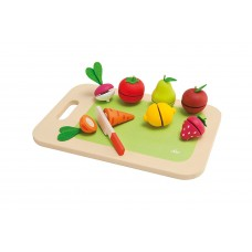 Sevi Chopping-Board Fruits and Vegetable Pretend Play