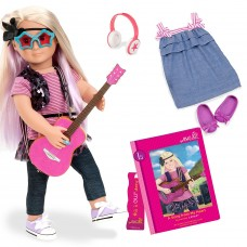 Our Generation 18-inch Layla Doll with Book