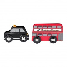 Tidlo Bus and Cab (Red/ Black)