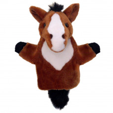 The Puppet Company - CarPets - Brown Horse Hand Puppet