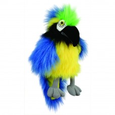The Puppet Company - Baby Birds - Blue & Gold Macaw Hand Puppet