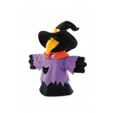 Trudi Hand Puppet 30 cm, Crow - Witch